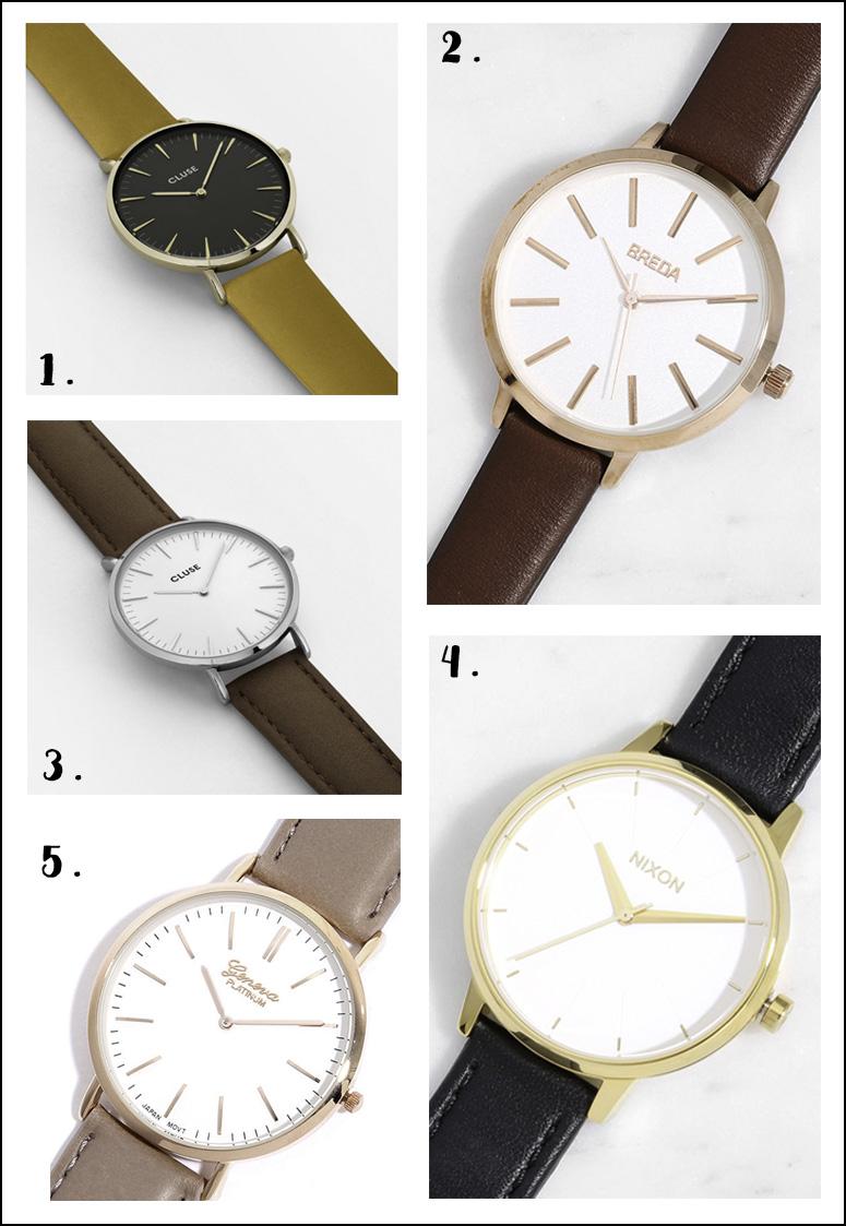accesorios watches reloj