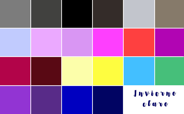 An lisis del color parte iii paleta de vuestros colores - Paleta de colores titanlux ...