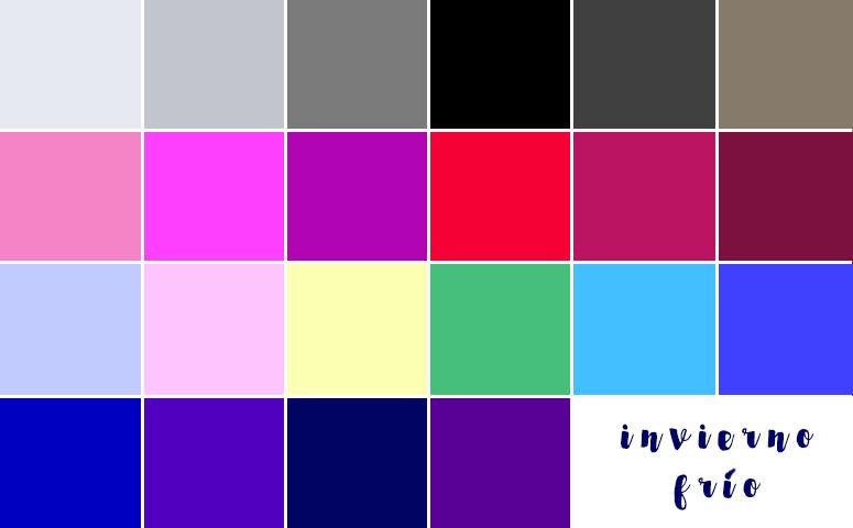 Paleta de colores paleta de colores para interiores de for Paleta de colores de pintura para interiores