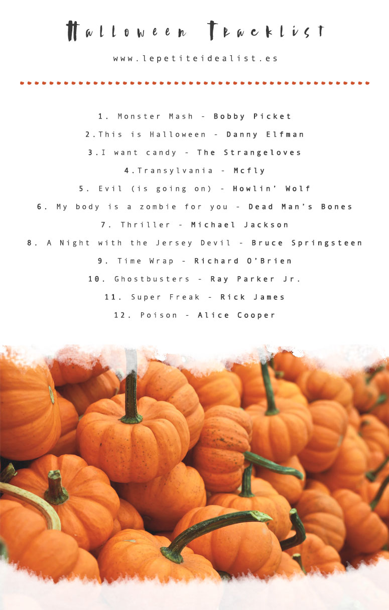 Halloween Tracklist