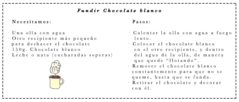 #DIY dulces de Halloween chocolate blanco