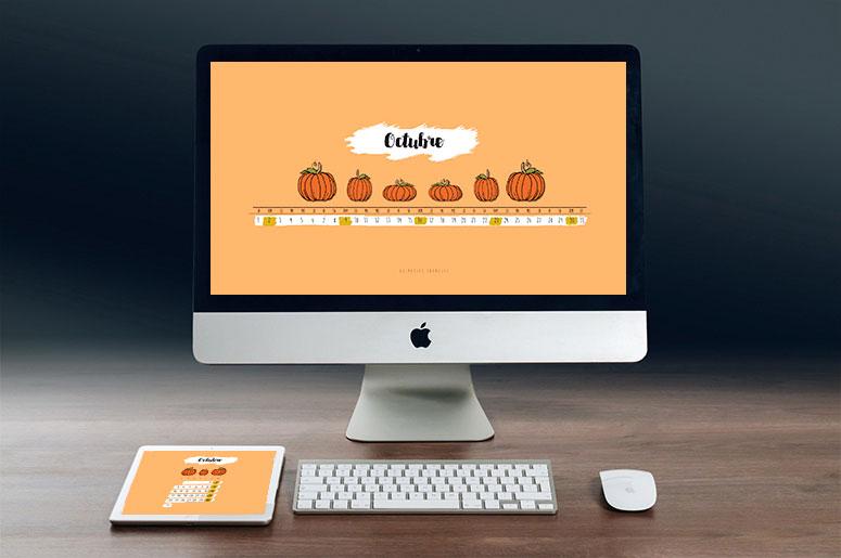 calendario de Octubre Halloween