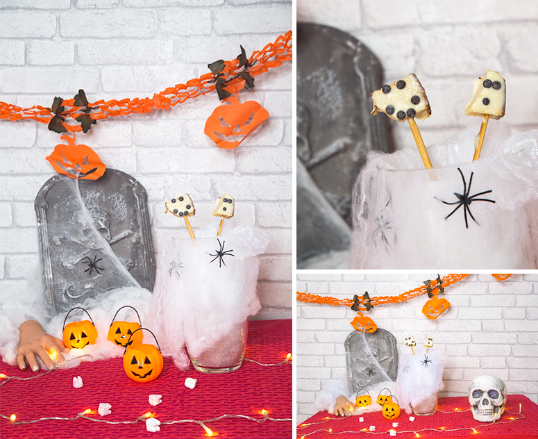 #DIY dulces de Halloween treats decoration
