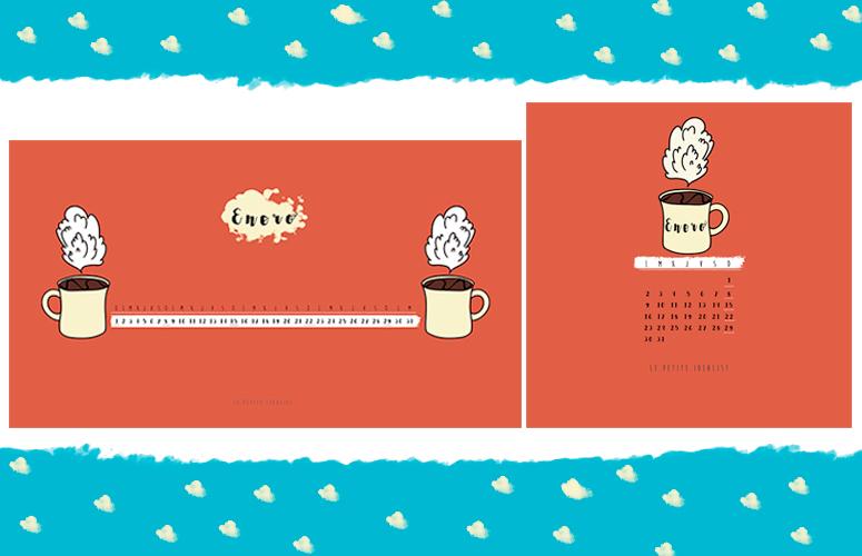 calendario de enero escritorio