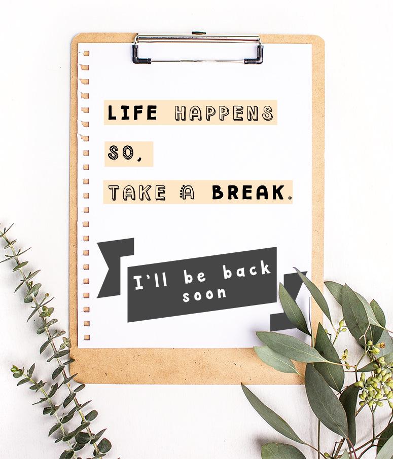 Aprendiendo a descansar Take a Break