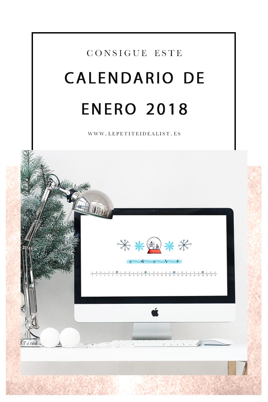 calendario de enero 2018