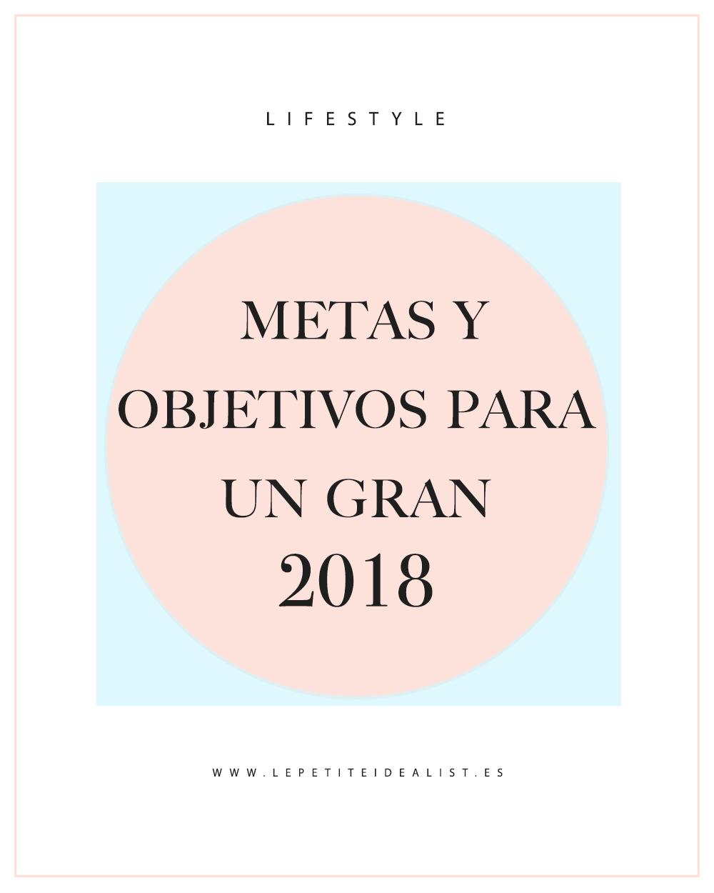 metas y objetivos 2018