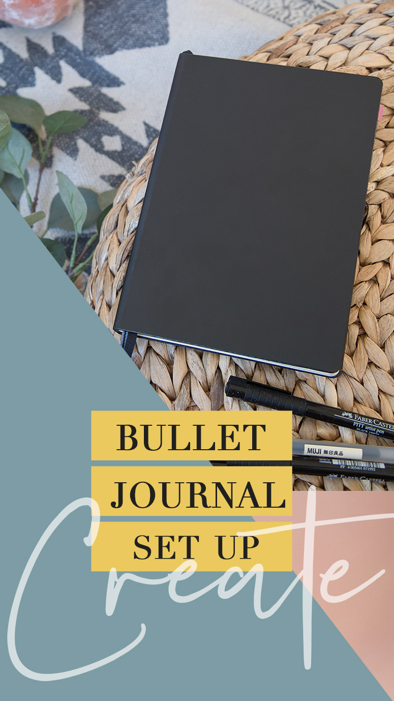 Bullet Journal bujo set up