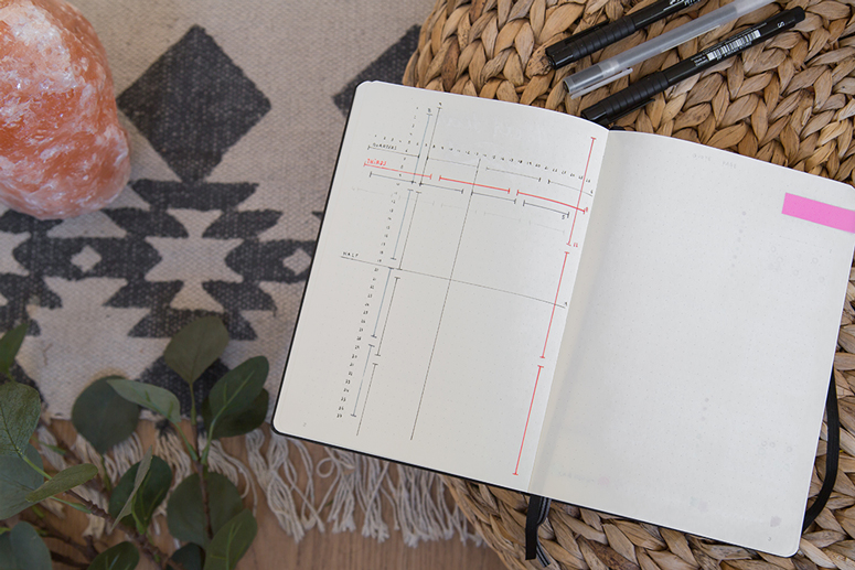 grid cheap sheet bullet journal bujo