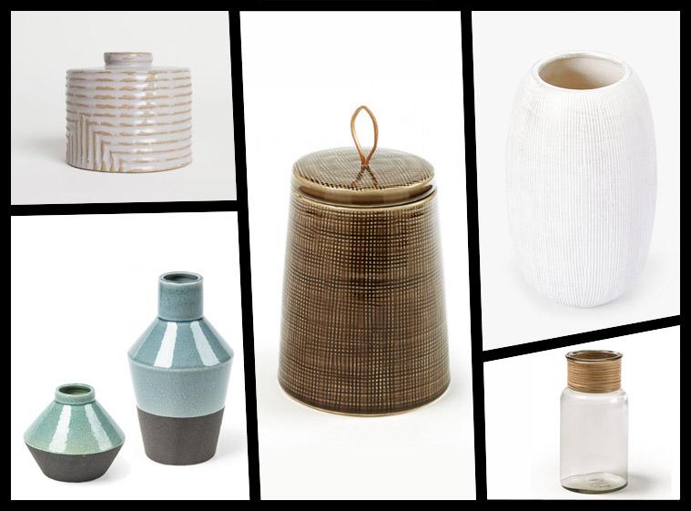 decoración del hogar rebajas jarrones cerámica