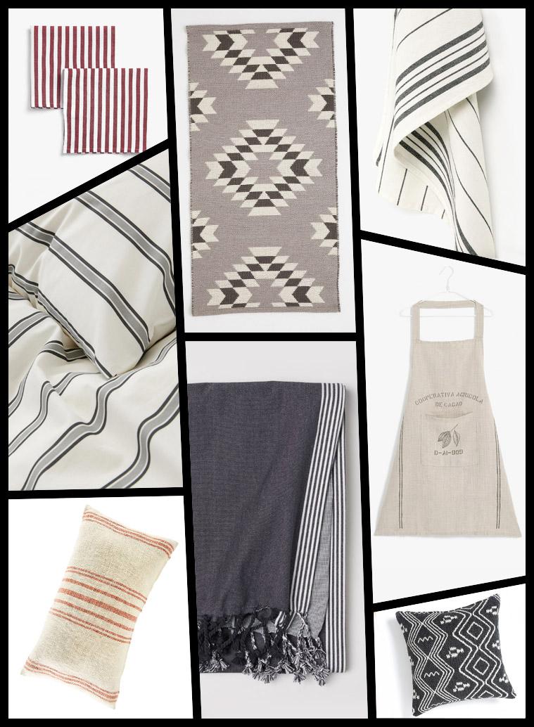 decoración del hogar rebajas téxtiles