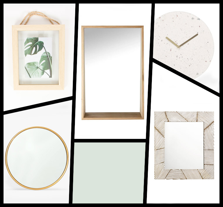 decoración del hogar rebajas espejos marcos