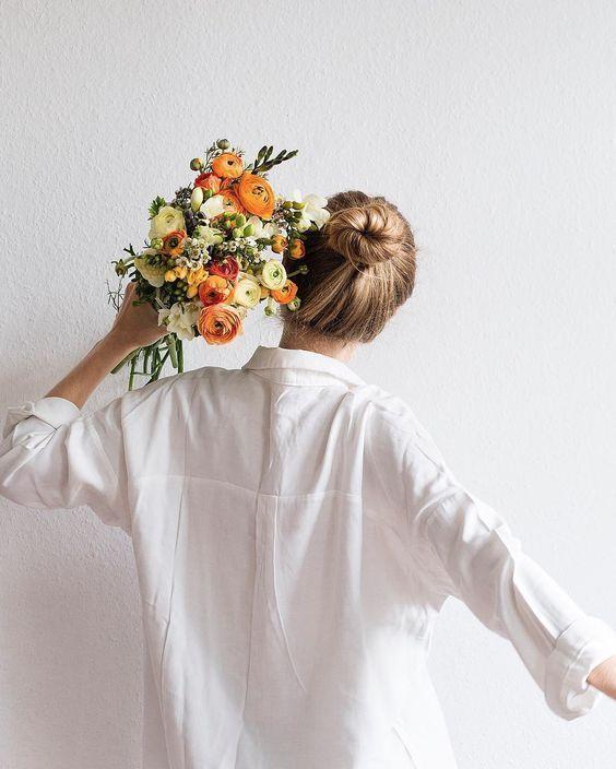 tu lista de primavera ramo de flores flower bouquet