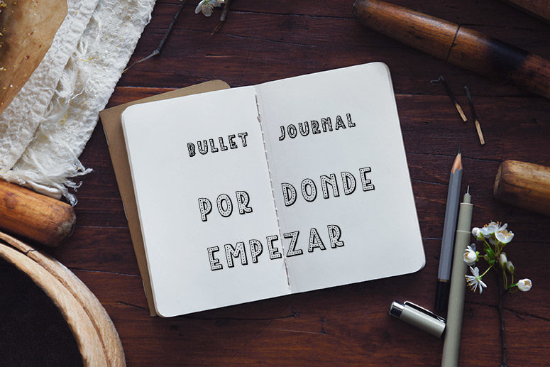 crea tu bullet journal como empezar