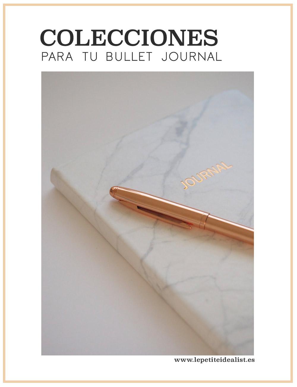 colecciones para tu bullet journal